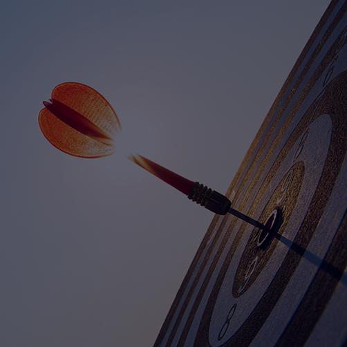 Dart on Bullseye